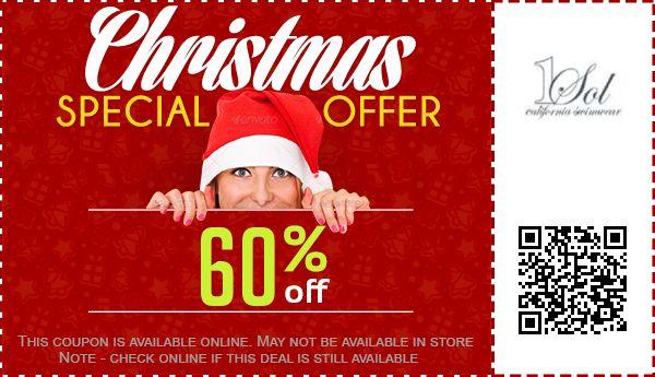 1 sol swimwear deals 1 sol swimwear coupons 60% off coupon, promo code 2017,1 Sol Swimwear