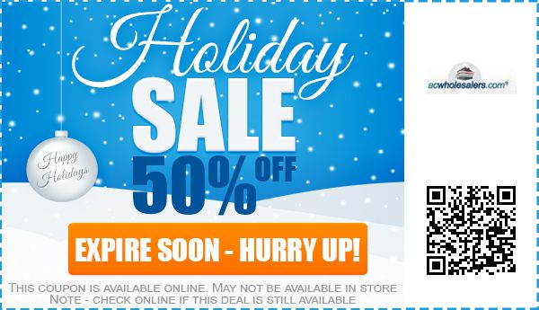 50 off ac wholesalers coupons promo codes free shipping 2019