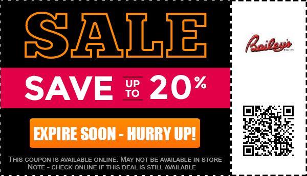 Baileys Online coupon