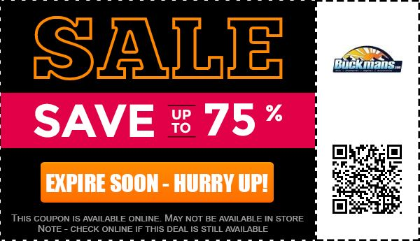 Buckmans.com coupon