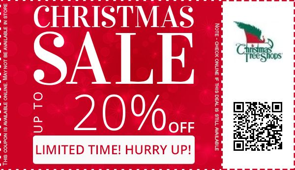 christmas tree shops coupons - Coupon For Christmas Tree Shop