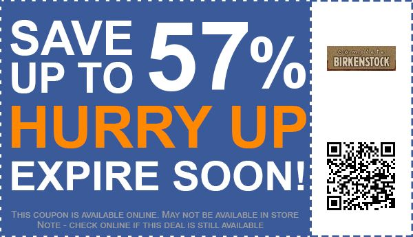 Birkenstock express discount code