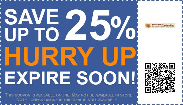 Dharma Trading Co. coupon code
