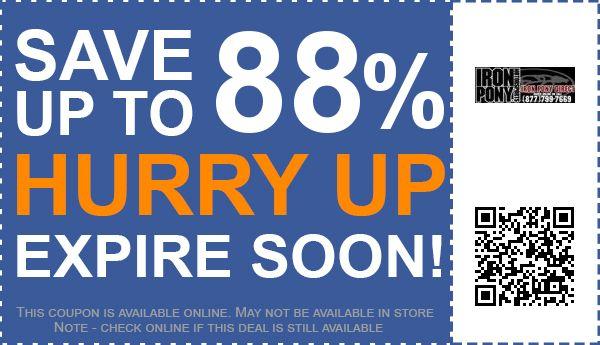 IRON PONY MOTORSPORTS coupon code