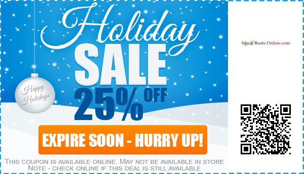 Muck Boots Online Coupons August 2017: Coupon & Promo Codes