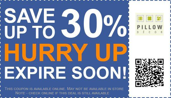 Up To 40% Off Pillow Décor Coupon Promo Code For November 40 Classy Pillow Decor Coupon Code