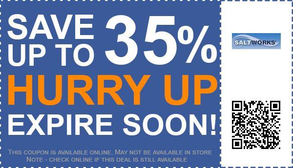 SaltWorks coupon code