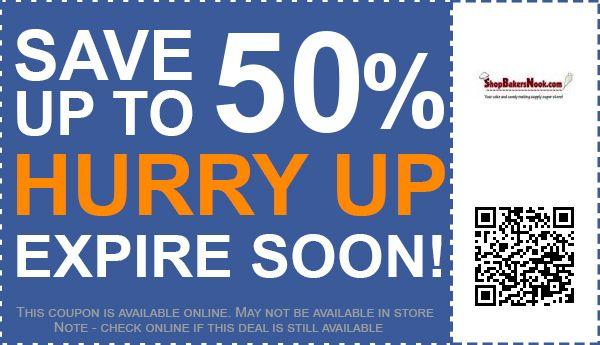 ShopBakersNook.com coupon code