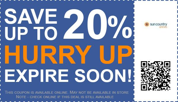 50 Off Sun Country Airlines Promo Codes Amp Coupons For