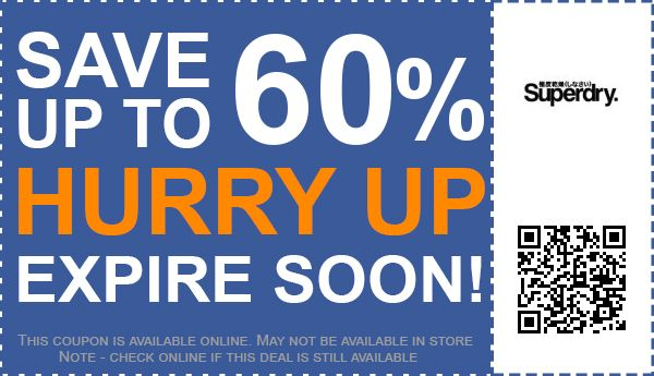 50 off superdry discount codes voucher codes free shipping