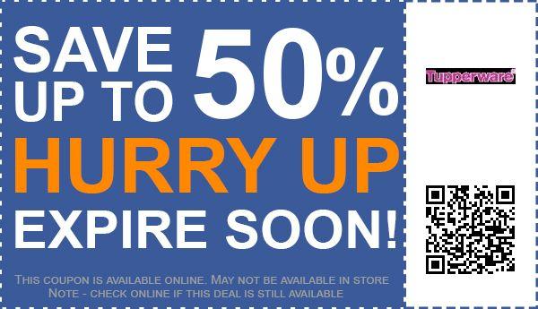 Tupperware coupon code