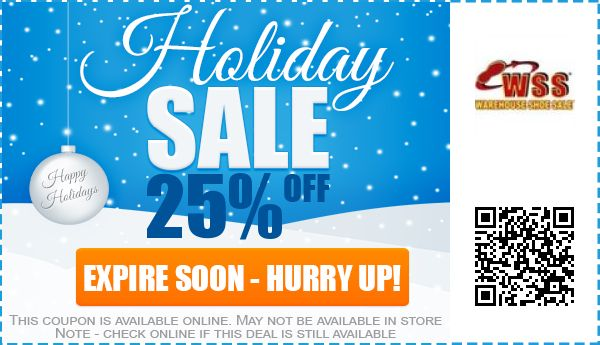 Warehouse shoe sale coupons online