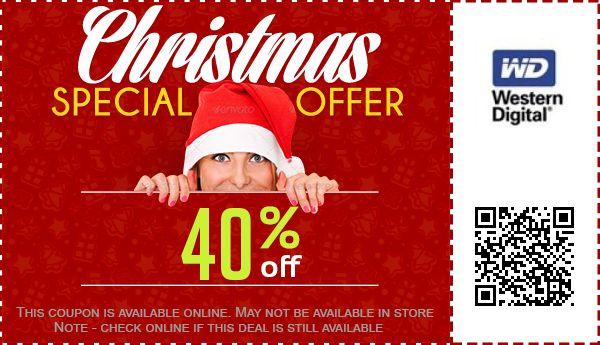 25% Off Western Digital Coupon, Promo Code - Dec 2020