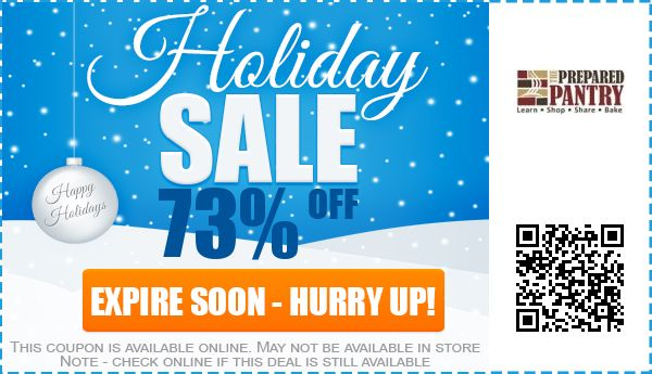 Up to 90 off the prepared pantry coupon promo code for june 2018 the prepared pantry promo code fandeluxe Images