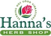 Hanna's Herb Shop coupons or promo codes at hannasherbshop.com