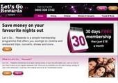 letsgorewards.co.uk coupons or promo codes at letsgorewards.co.uk