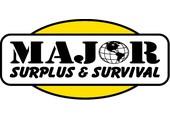Major Surplus & Survival coupons or promo codes at majorsurplus.com