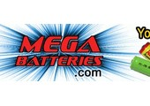 Mega Battery coupons or promo codes at megabatteries.com
